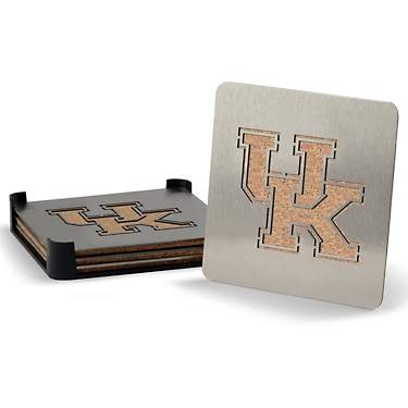 YouTheFan University of Kentucky Boasters 4-Piece Coaster Set
