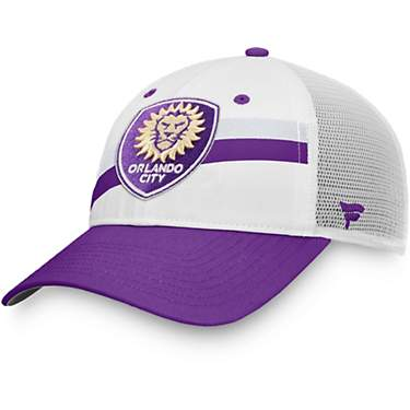 Orlando City SC Adults' Unstructured Adjustable Mesh Back Cap