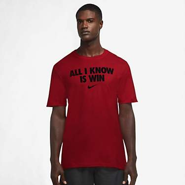Nike Men's OC Open All I Know Is Win Basketball T-shirt
