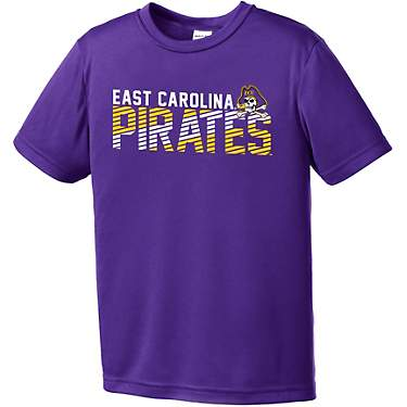 Image One Boys' East Carolina University Diagonal Competitor Short Sleeve T-shirt
