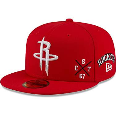 New Era Men's Houston Rockets Multi 59FIFTY Cap