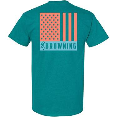 Browning Women's Tonal Flag Graphic T-shirt