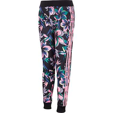adidas Girls' Printed Tricot Joggers