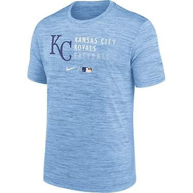 Nike Men's Kansas City Royals Velocity Practice Short Sleeve T-shirt