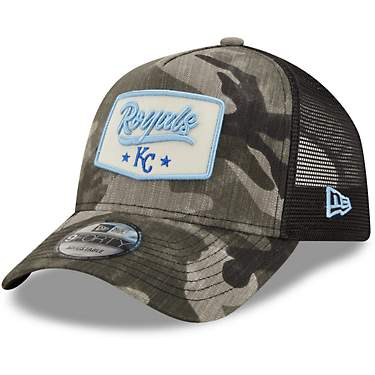 New Era Men's Kansas City Royals Camo Patch 9FORTY Cap