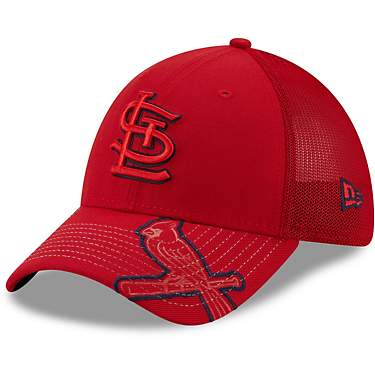 New Era Men's St. Louis Cardinals Pop Visor 39THIRTY Cap
