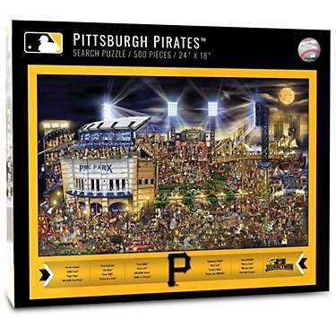 YouTheFan Pittsburgh Pirates Journeyman Jigsaw Puzzle