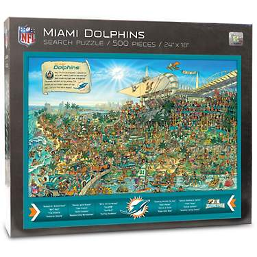 YouTheFan Miami Dolphins Joe Journeyman 500-Piece Puzzle