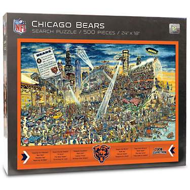 YouTheFan Chicago Bears Joe Journeyman 500-Piece Puzzle