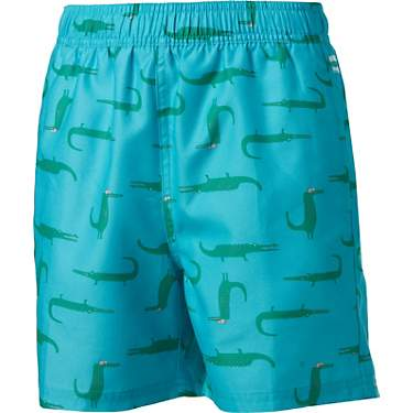 O'Rageous Boys' Cool Gator Volley Shorts