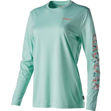 Magellan Outdoors Women's Caddo Lake Logo Crew Long Sleeve T-shirt