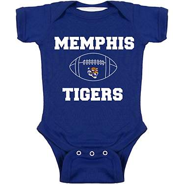Two Feet Ahead Infant Boys' University of Memphis Football Creeper