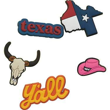 Crocs Jibbitz Texas Wanderlust Charms 5-Pack