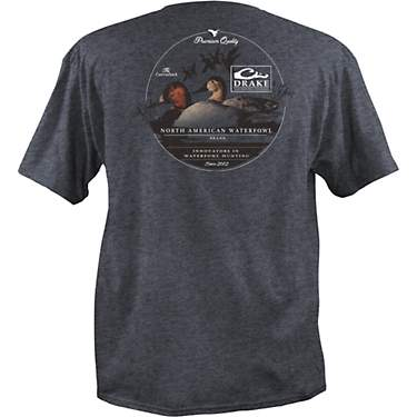 Drake Waterfowl Men's Canvas Back Graphic T-shirt