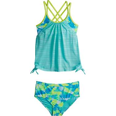 Gerry Girls' Puff 2-Piece Swimsuit