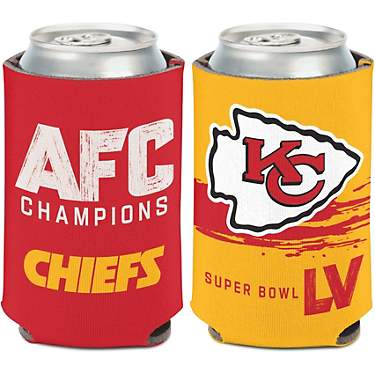 WinCraft Kansas City Chiefs AFC Conference Champions Can Cooler