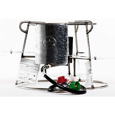 King Kooker Stainless Steel Double Jet Cooker