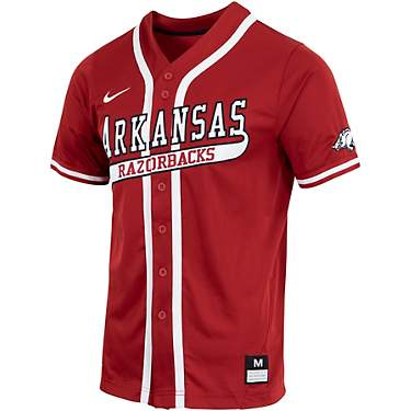 Nike Men's University of Arkansas Baseball Replica Jersey