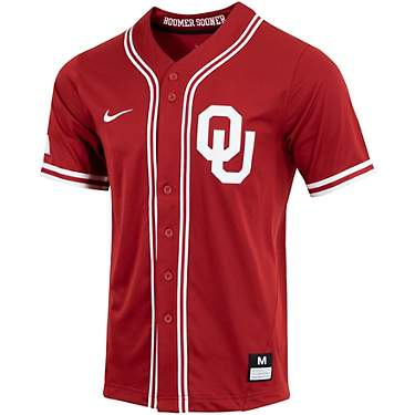 Nike Men's University of Oklahoma Baseball Replica Jersey