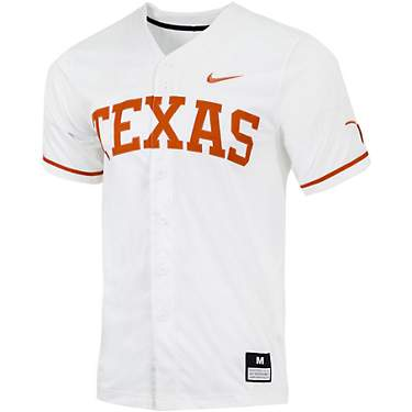 Nike Men's University of Texas Arch Baseball Replica Jersey