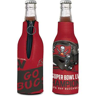 WinCraft Tampa Bay Buccaneers Super Bowl LV Champs Bottle Cooler