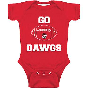 Atlanta Hosiery Company Infant Boys' University of Georgia Football Creeper
