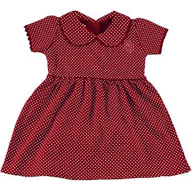 Two Feet Ahead Infant Girls' University of Oklahoma Peter Pan Dress