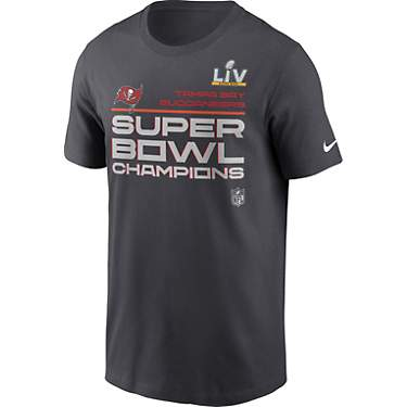 Nike Men's Tampa Bay Buccaneers Super Bowl LV Champion Trophy Collection T-shirt