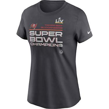 Nike Women's Tampa Bay Buccaneers Super Bowl LV Champion Trophy Collection T-shirt