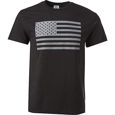 Academy Sports + Outdoors Men's Basic Flag Short Sleeve T-shirt