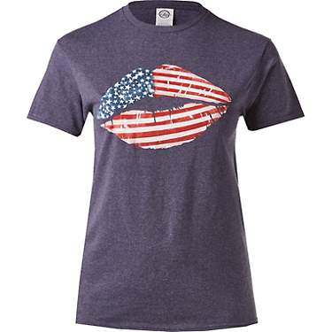 Academy Outdoors + Sports Women's Americana Lips Graphic T-shirt