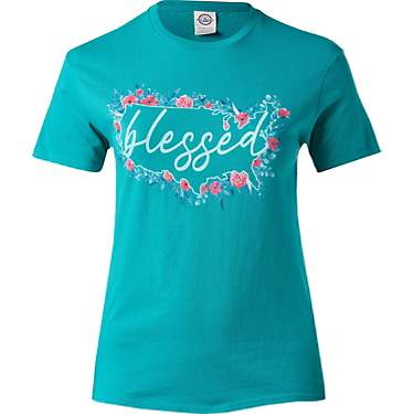 Academy Outdoors + Sports Women's Blessed Flowers Graphic T-shirt