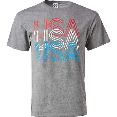 Academy Outdoors + Sports Women's Stacked USA Graphic T-shirt