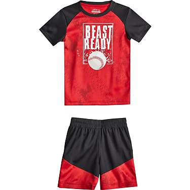 BCG Toddler Boys' Beast Ready Graphic T-shirt Set