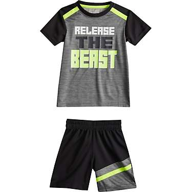 BCG Toddler Boys' Beast Mode Graphic T-shirt and Shorts Set