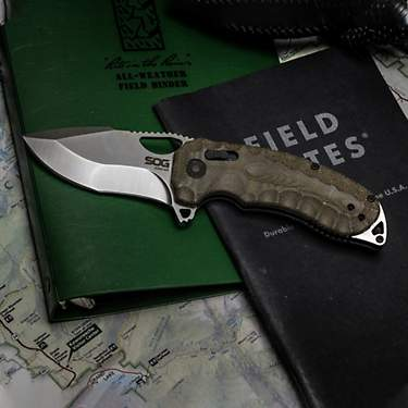 SOG Kiku XR Satin Folding Knife