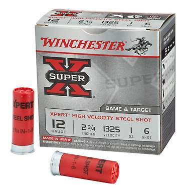 Winchester Xpert Steel Upland Game and Target Load 12 Gauge Shotshells