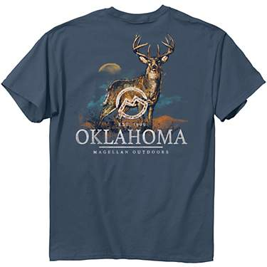 Magellan Outdoors Men's Oklahoma Deer Graphic T-shirt