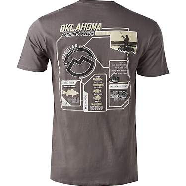 Magellan Outdoors™ Men's Fishing Facts OK Short-Sleeve Graphic T-shirt
