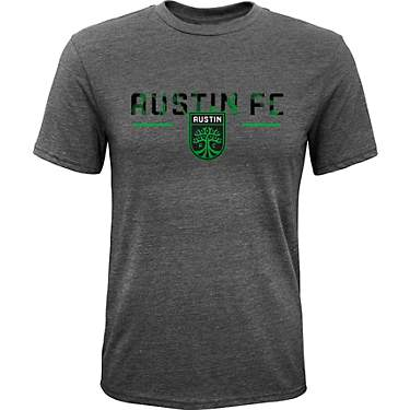 Outerstuff Boys' Austin FC Slogan Short Sleeve T-shirt