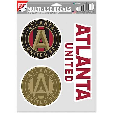 WinCraft Atlanta United FC Fan Decals 3-Pack