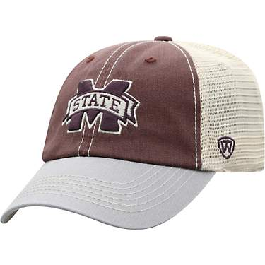 Top of the World Adults' Mississippi State University Offroad Adjustable 3-Tone Cap