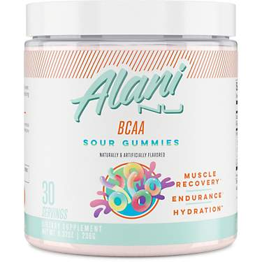 Alani Nu BCAA Sour Gummy Post-Workout Supplement