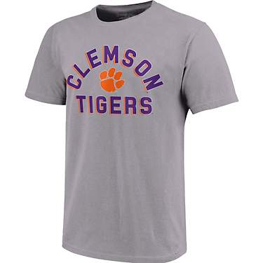 Image One Men's Clemson University Retro Stack T-shirt