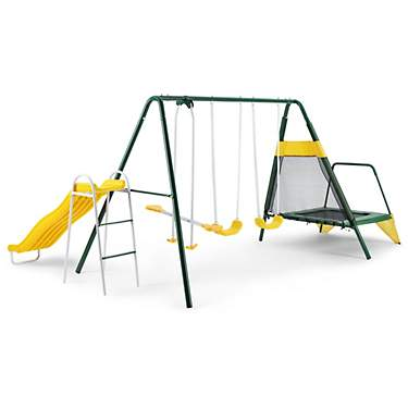 AGame Bounce N Play Metal Playset