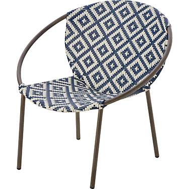 Mosaic Trendy Wicker Stack Chair