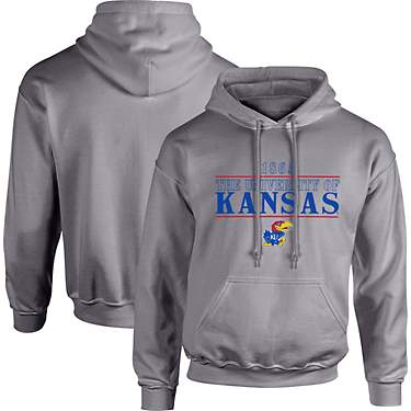 Image One Men's University of Kansas Type Hoodie