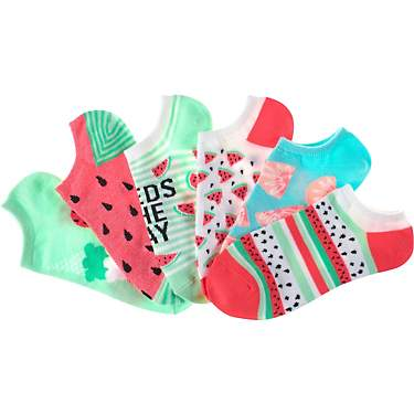 BCG Women's Watermelon No-Show Socks 6-Pack