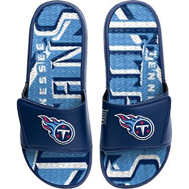 FOCO Men's Tennessee Titans Gel Slide Shoes