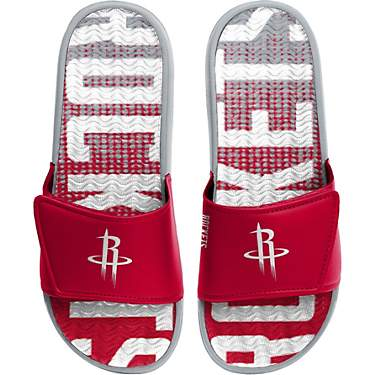 FOCO Youth Houston Rockets Gradient Wordmark Gel Slides
